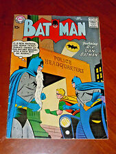 """BATMAN #119 (1958) FINE- (5.5) cond.  """"Rip Van Batman"""" Classic story BATWOMAN"""