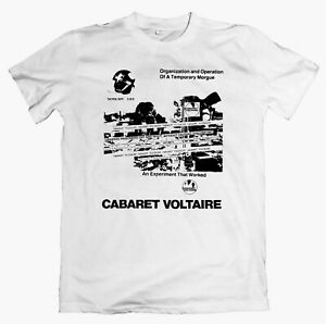 CABARET VOLTAIRE Morgue T-shirt/Long Sleeve,  throbbing gristle psychic tv coil