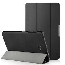 Leather Flip Case for Samsung Galaxy Tab A 10.1 (2016)T580/T585, Ultra Slim Case