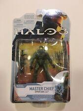 "McFARLANE TOYS Halo 3 MASTER CHIEF Spartan 117 2009 Wave 1 5"" Figure Box Damage"