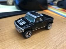 2004 Hot Wheels HUMMER H3T Black Diecast Toy Car