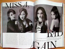 Miss A K POP/Cutting 8p.---magazine clippings/ ELLE  Korea/November 2013