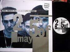 "25th of MAY-GO WILD-UK ARISTA 12"" PS 4 Mixes-the oscar mix, exoskeleton mix"