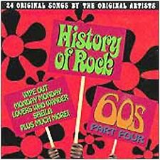 NEW History Of Rock: The 60's Part 4 (Audio CD)