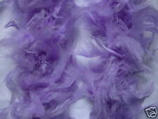 Flapper Instant Kit Purple Flapper Headband with 85G Fluffy Deluxe Feather Boa