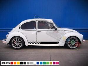 Decal body Sticker Stripe kit For Volkswagen Beetle 1968 1969 1970 1971 1972 top