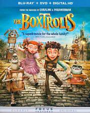 The Boxtrolls (Blu-ray/DVD, 2015, 2-Disc Set, Includes Digital Copy no slipcover