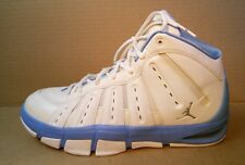 nike jordan melo m7 men shoes size 13 white/university blue 414843-101