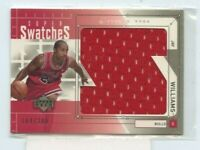 JAY WILLIAMS 2002-03 Upper Deck Super Swatches Jerseys Rookie Jersey #D /200