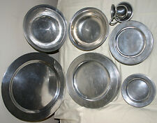 VNTG WILTON RWP ARMETALE PEWTER WARE COLUMBIA 41 PC. POLISHED PLOUGH TAVERN SET