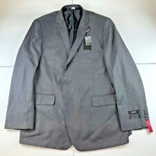 NWT ANGELO ROSSI  By Giorgio Cosani Men's Gray Color Suit Classic 52L Pants 47