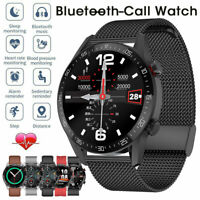 Smart Watch Bluetooth-Call Waterproof Smart Heart Rate Sports Fitness Tracker