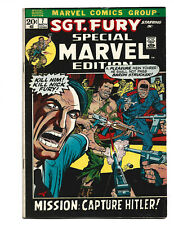 Special Marvel Edition #5 (11/72) VG/F (5.0) Sgt. Fury! Great Bronze Age!