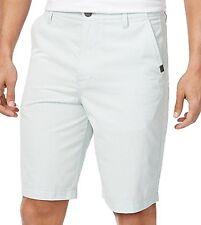 NWT Calvin Klein Men's Shorts 38W Surf Spray Green 100% Cotton Birdseye Print