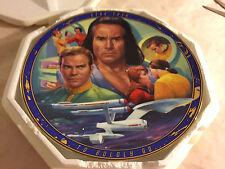 1996 Hamilton Collection Star Trek Space Seed Collector Plate Coa