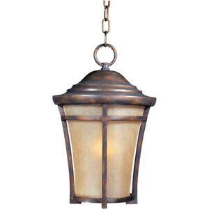 Maxim Balboa VX 1-Light Outdoor Hanging Lantern Copper Oxide-40167GFCO