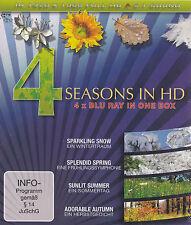 [BRAND NEW] BLU-RAY DVD: 4 SEASONS IN HD (4DVD BOX SET)