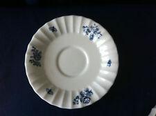 Royal Worcester Blue Sprays soup cup saucer