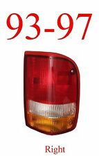 93 97 Ranger Right Tail Light, Ford, Complete Assembly, 2WD, 4WD, FO2801110