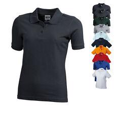 James & Nicholson Damen Workwear Polo Women Shirt Baumwolle S M L XL XXL Neuware