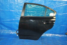15-18 SUBARU WRX STI CRYSTAL BLACK SILICA DRIVERS LEFT LH REAR BACK DOOR OEM
