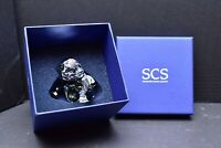 S905543 SWAROVSKI CRYSTAL PANDA CUB ANNUAL EDITION W Bamboo Figurine IN BOX