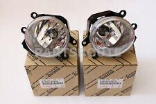Toyota Rav4 Prius Lexus ES350 Genuine OEM Fog Lights Lamps Set Pair Right Left