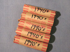 *** Mixed rolls of 1940's small cents / Philly, Denver & San Francisco possible.