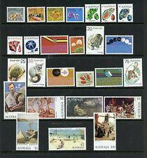 Australia #554-579 (Au002) Complete 1973-1984 issue, Mnh, Vf