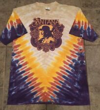 """Santana """"All Is One"""" Double Sided Tie-Dyed T-Shirt"""