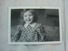 Unusual Vintage Photo Artistic Blurry Girl Smiling 806