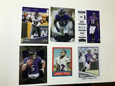 2014 TOPPS FINEST FOOTBALL No.35 TERRELL SUGGS AND 5 BONUS CARDS