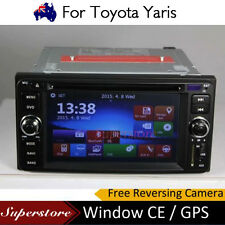 6.2 inch  CAR DVD GPS Player head unit navigation usb For Toyota Yaris 2011-2013