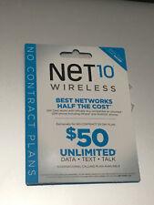 10 pcs of Net10 nano sim card _new