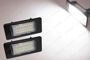 Canbus LED For Audi A4 A5 Q5 TT VW Volkswagen Passat License Number Plate Lights