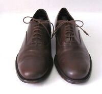 PRADA Dark Brown Men Leather Shoes, Size 7 Made In ITALY - USED