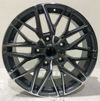"""20"""" MESH LOAD RATED ALLOY WHEELS & TYRES GREY & SILVER FORD TRANSIT CUSTOM"""