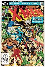 X-MEN ANNUAL #5 (NM-) FANTASTIC FOUR! Vintage Bronze-Age Comic! BADOON! 1981