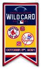 2021 WILD CARD DUELING PIN BOSTON RED SOX VS. N.Y. NEW YORK YANKEES WORLD SERIES