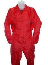 Coverall Flying Suit - Oxford Nylon - Red - Size Small Only