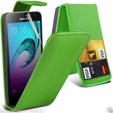 Cover e custodie verde modello Per Samsung Galaxy J1 in pelle sintetica per cellulari e palmari