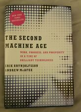 The Second Machine Age Erik Brynjolfsson & Andrew McAfee  Hardcover  New