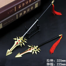 1/6 TOY MOBA King of Glory METAL Spear chinese sword Heart of engine 22-32cm 韩信