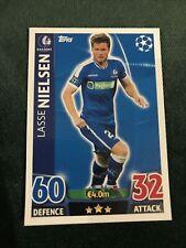 KAA Gent Nielsen UEFA Champions League 15/16 Match Attax Football Card