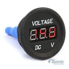 NEW! Belva BAVTM 12V-18V DC Car/Marine Voltage Meter Monitoring Gauge