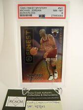 1995 Finest Mystery Michael Jordan Borderless # M1 PSA 8 NM-MT HOF Chicago Bulls