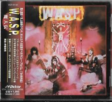 W.A.S.P. - WASP Japon CD OBI VICP - 60149/Twisted Sister troublée Silent Rage Cities