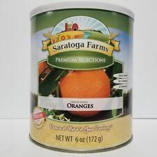 Saratoga Farms Freeze Dried Food Oranges #10 Can