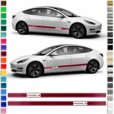 Rdx Spoiler Lèvre TESLA Model S ab Bj 2016 Front Approche épée lèvre spoiler