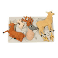 Silicone Fondant Cake Mould Cute Goat Sugar Chocolate Mold Party Decoration